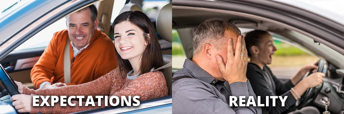 Learning to Drive Expectations vs. Reality