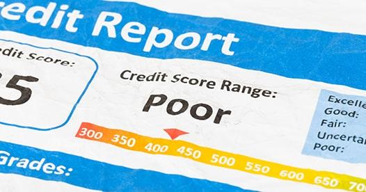 does divorce affect your credit