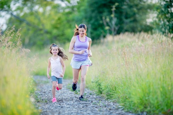 regular exercise can help your child to focus