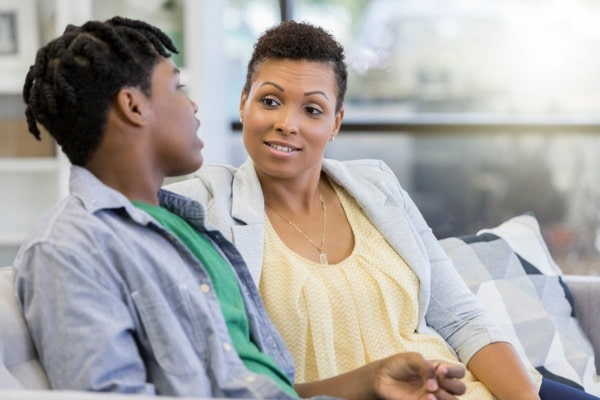 However you manage to carve out time with your teenager, make it count by listening more than you talk