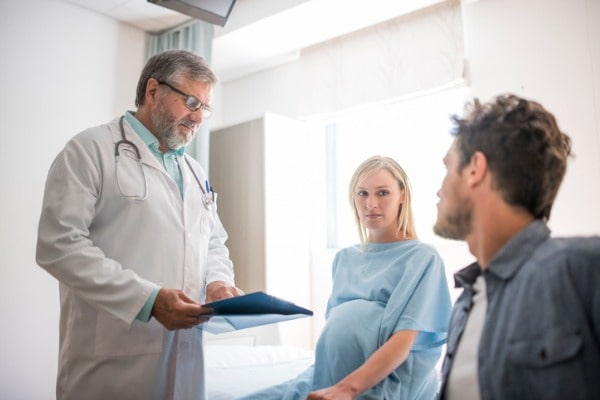 Attend prenatal visits with your co-parent