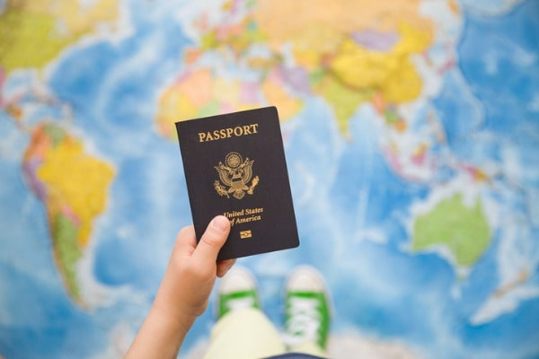 oth parents should go with a child in-person to apply for a passport