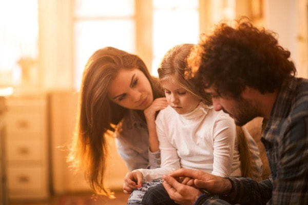 If a child's parents have separated or divorced, their feelings may become more complicated to understand