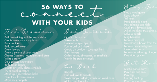 list of activities for parents and kids